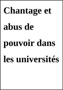 ChantageAbus