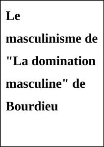 MasculinismeBourdieu
