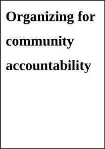 CommunityAccountability